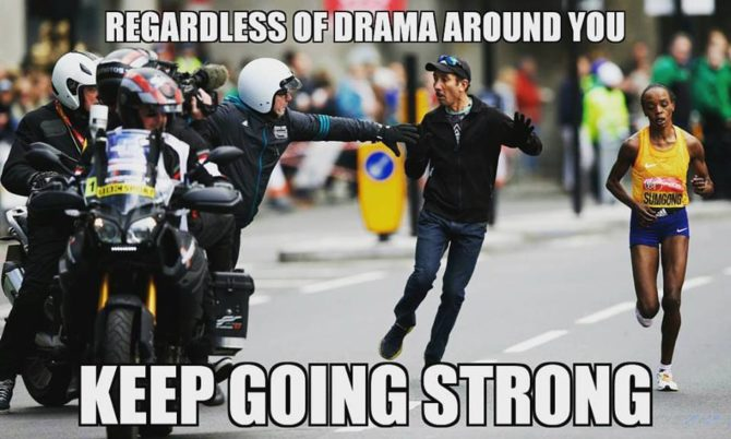 #OdeToYouth Lesson 12: Ignore the drama, focus on the gold